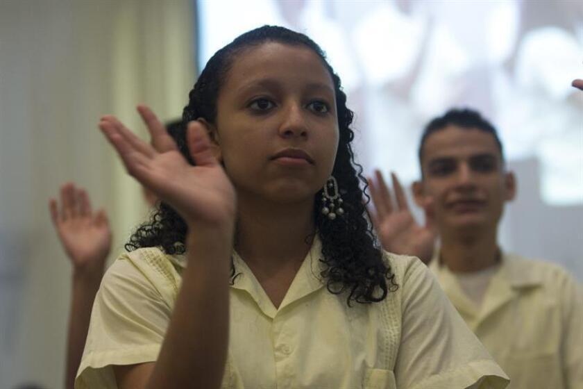 El portavoz senatorial del Partido Independentista Puertorriqueño (PIP) de Puerto Rico, Juan Dalmau, presentará un proyecto para crear una Ley que viabilice el acceso a la justicia de las personas sordas. EFE/Archivo