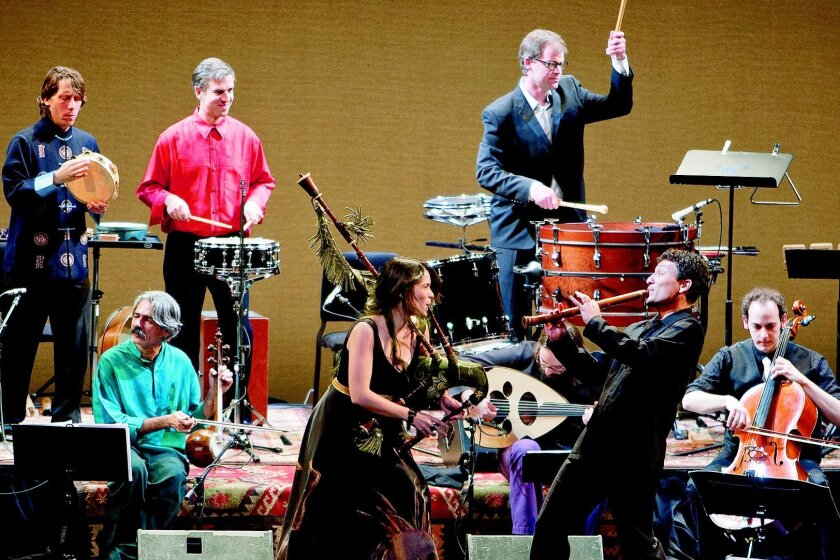 The Silk Road Ensemble will perform at the MCASD Sherwood Auditorium on Sunday, Oct. 20.