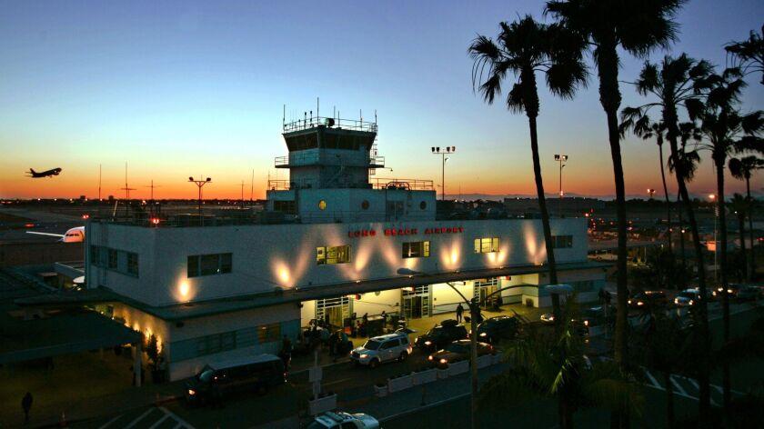 The historic terminal at Long Beach Airport. Hawaiian Airlines will begin operating nonstop daily flights between Long Beach and Honolulu.