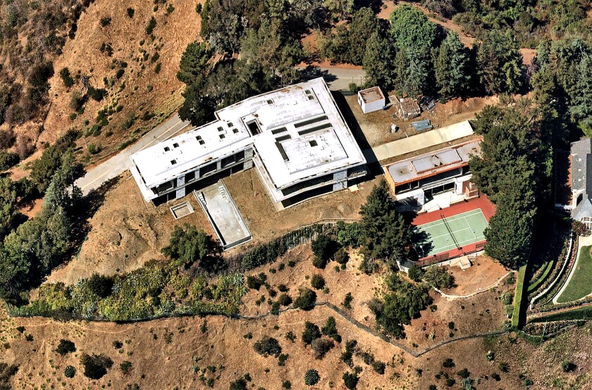 The Beverly Park property, where Hollywood producer Richard Zanuck once had a home, sold for $28.5 million.