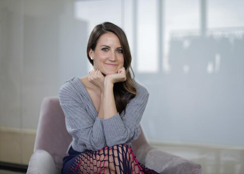 Carbon38 co-founder Katie Warner Johnson.