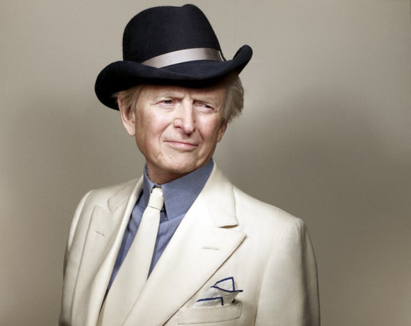 """Tom Wolfe, author of """"Back to Blood"""""""