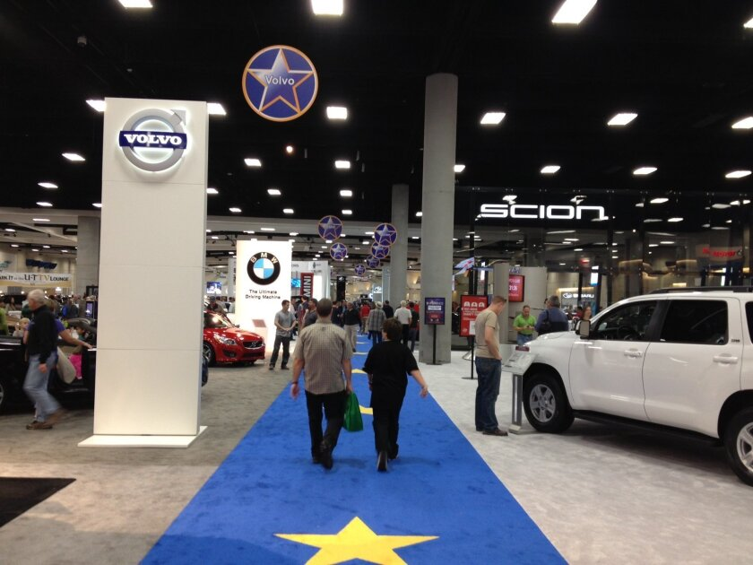 The San Diego International Auto Show opened Thursday at the San Diego Convention Center.