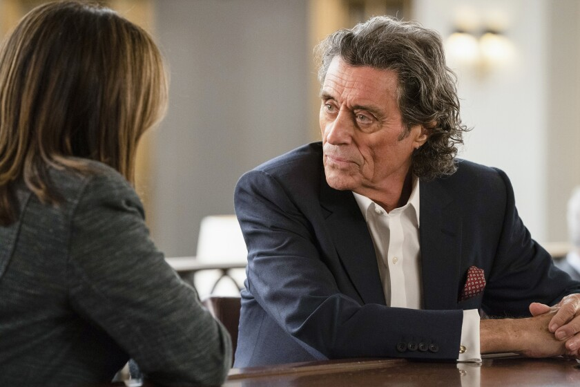 """Ian McShane on """"Law & Order: Special Victims Unit"""""""