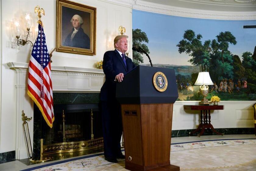 US President Donald J. Trump. EFE/EPA/Archivo