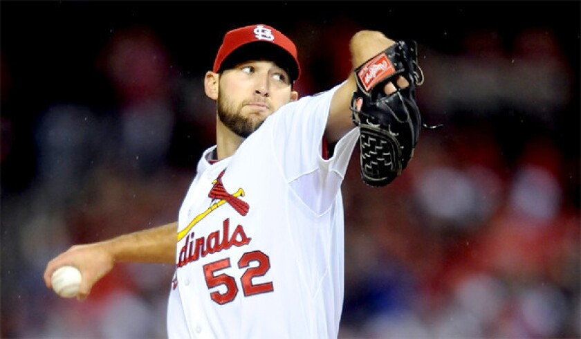Rookie right-hander Michael Wacha helped get the Cardinals to the World Series. Now he has a milkshake named for him in the St. Louis area.