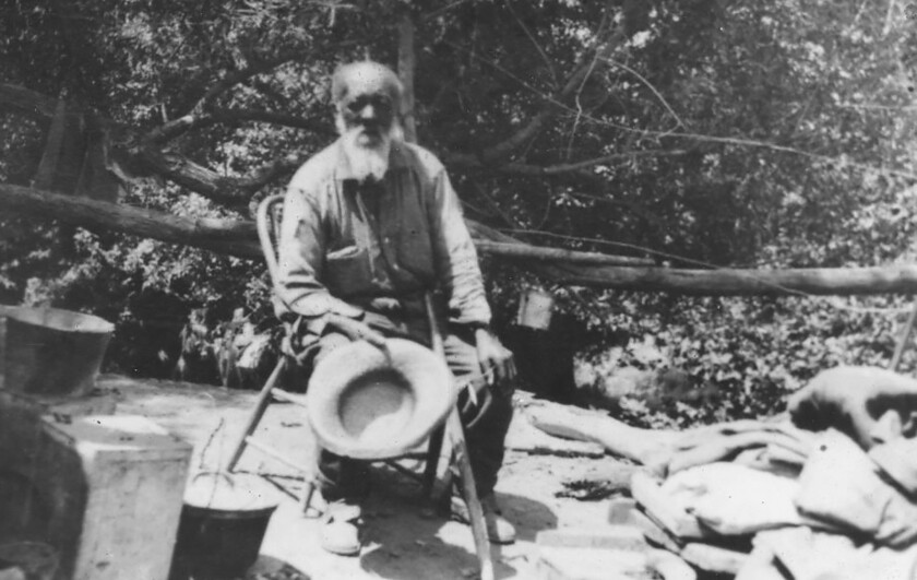Nathan Harrison, a Kentucky-born slave who became San Diego's first African American pioneer