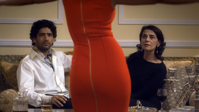 """Salim Kechiouche, left, and Hiam Abbass in the movie """"Foreign Body."""""""