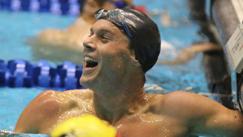 Michael Cohn holds four school records at UC San Diego.