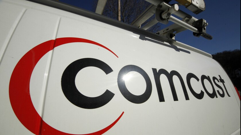 Comcast beat Wall Street estimates on Monday with first quarter profit up 10% compared with the year-ago period.