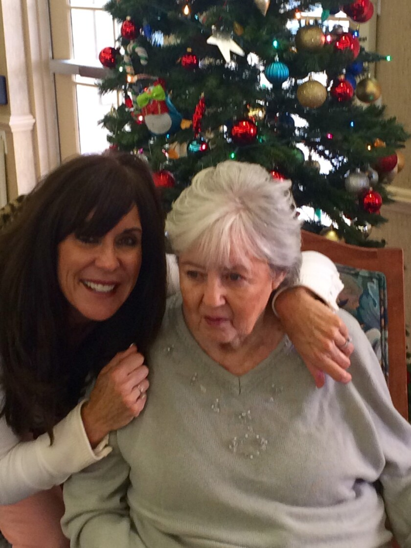 Maureen Cardosa was inspired to return to marathon running and raise money for Alzheimer's research by her mother, Rosie.