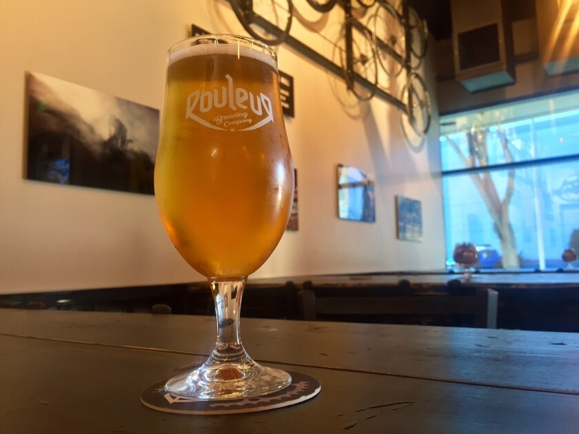 The Soloist, a Belgian blonde ale by Rouleur Brewing Co. (Liz Bowen)