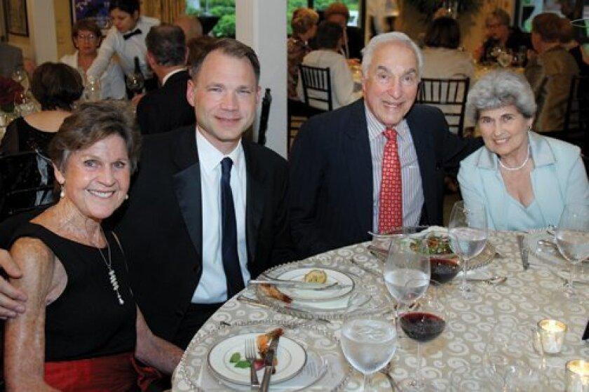 Jeanette Stevens, Todd Schultz, Jere and Joyce Oren