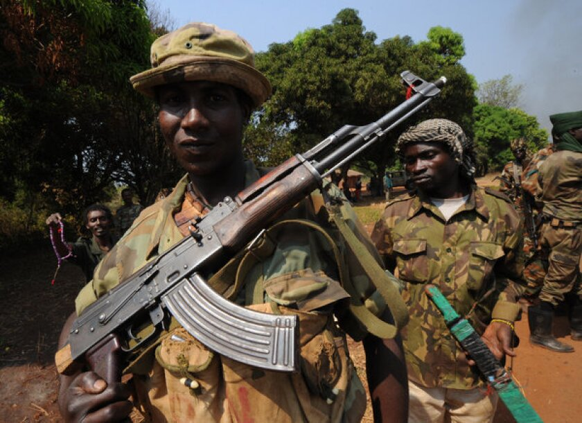 Rebels topple Central African Republic president, seize capital