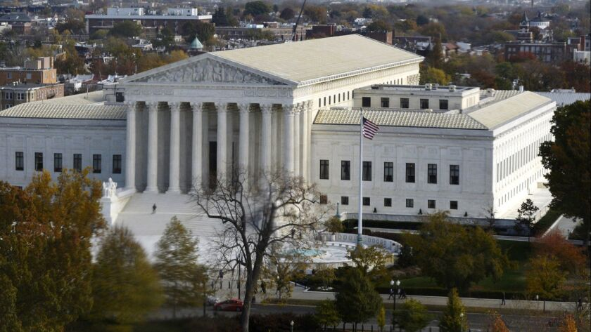 The U.S. Supreme Court in the past has stood firm against the president's use of emergency power to override Congress.