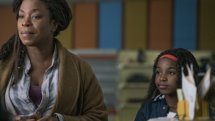 """(L-R)- Lorraine Toussaint and Saniyya Sidney in a scene from """"Fast Color."""" Credit: Jacob Yakob/Codeb"""
