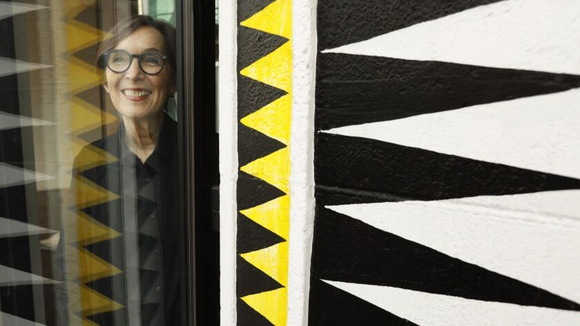 LOS ANGELES, CA - JANUARY 11, 2019 - - Craft Contemporary executive director Suzanne Isken is at the