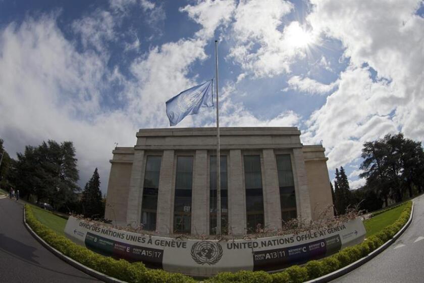 Edificio de Naciones Unidas en Ginebra, Suiza. EFE/Archivo