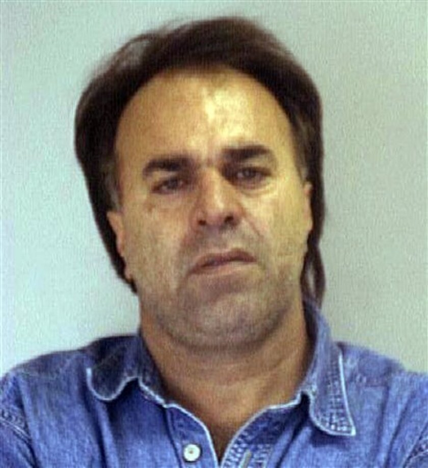 This undated image provided by the Nueces County Sheriff's Office shows Manssor Arbabsiar. The Obama administration on Tuesday, Oct. 11, 2011 accused agents of the Iranian government of being involved in a plan to assassinate the Saudi ambassador to the United States. Secretary of State Hillary Rodham Clinton said the thwarted plot would further isolate Tehran. (AP Photo/Nueces County Sheriff's Office)