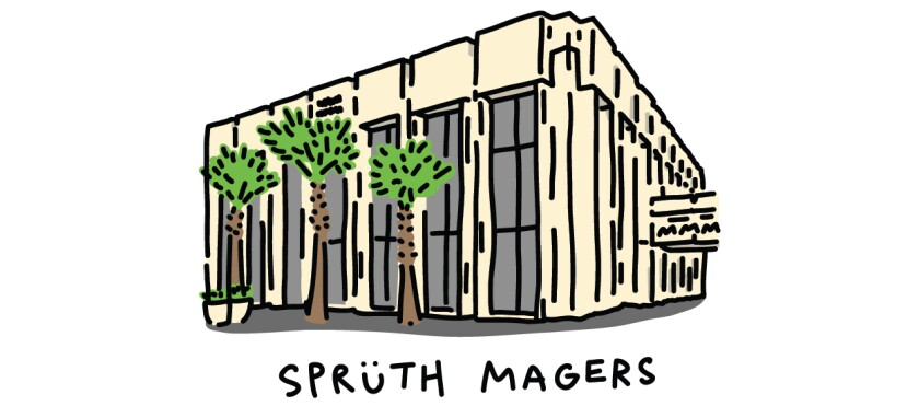 Illustration from the Spruth Magers art gallery