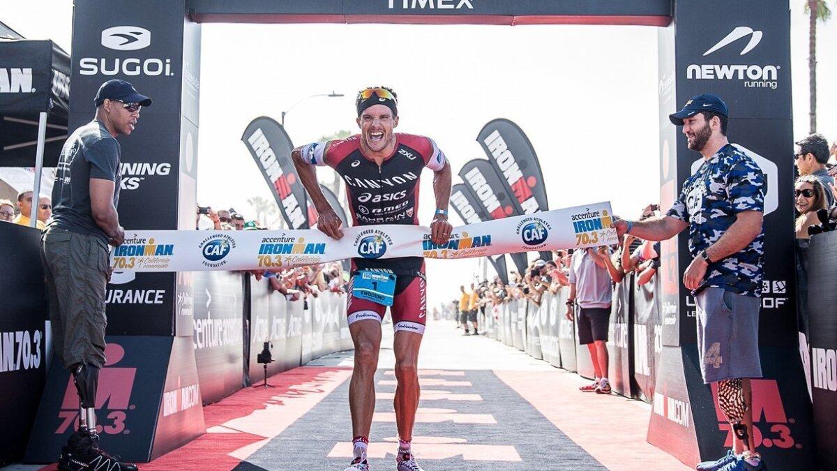 a86f0315b29b2 Familiar winners in Ironman 70.3 California triathlon - The San Diego  Union-Tribune