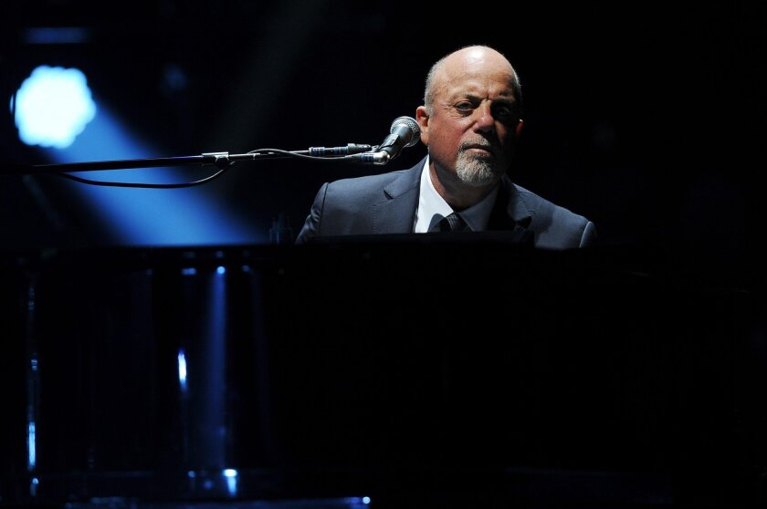 Billy Joel isn't recording new songs anymore, but he still relishes the opportunity to perform onstage.