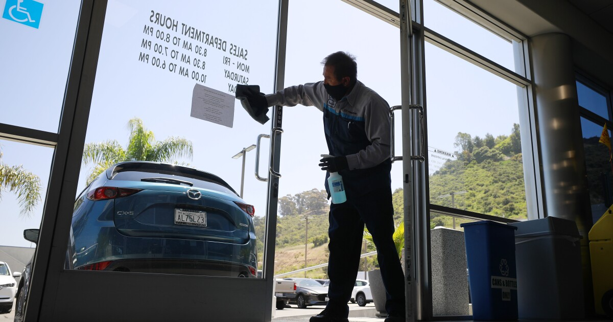 Impact of pandemic: Auto sales through April down 21 percent in California