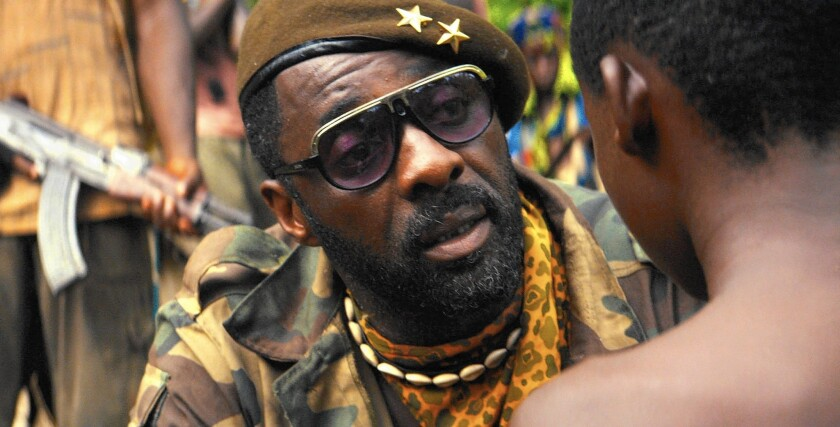 """In the Academy Awards' four acting categories, only Idris Elba (""""Beasts of No Nation"""") sits among the forecasted nominees at Gold Derby, a website compiling the predictions of two dozen Oscar pundits."""