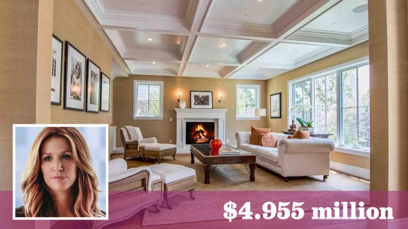 Actress Poppy Montgomery has sold her home in Pacific Palisades to actress Bree Turner for about $5 million.