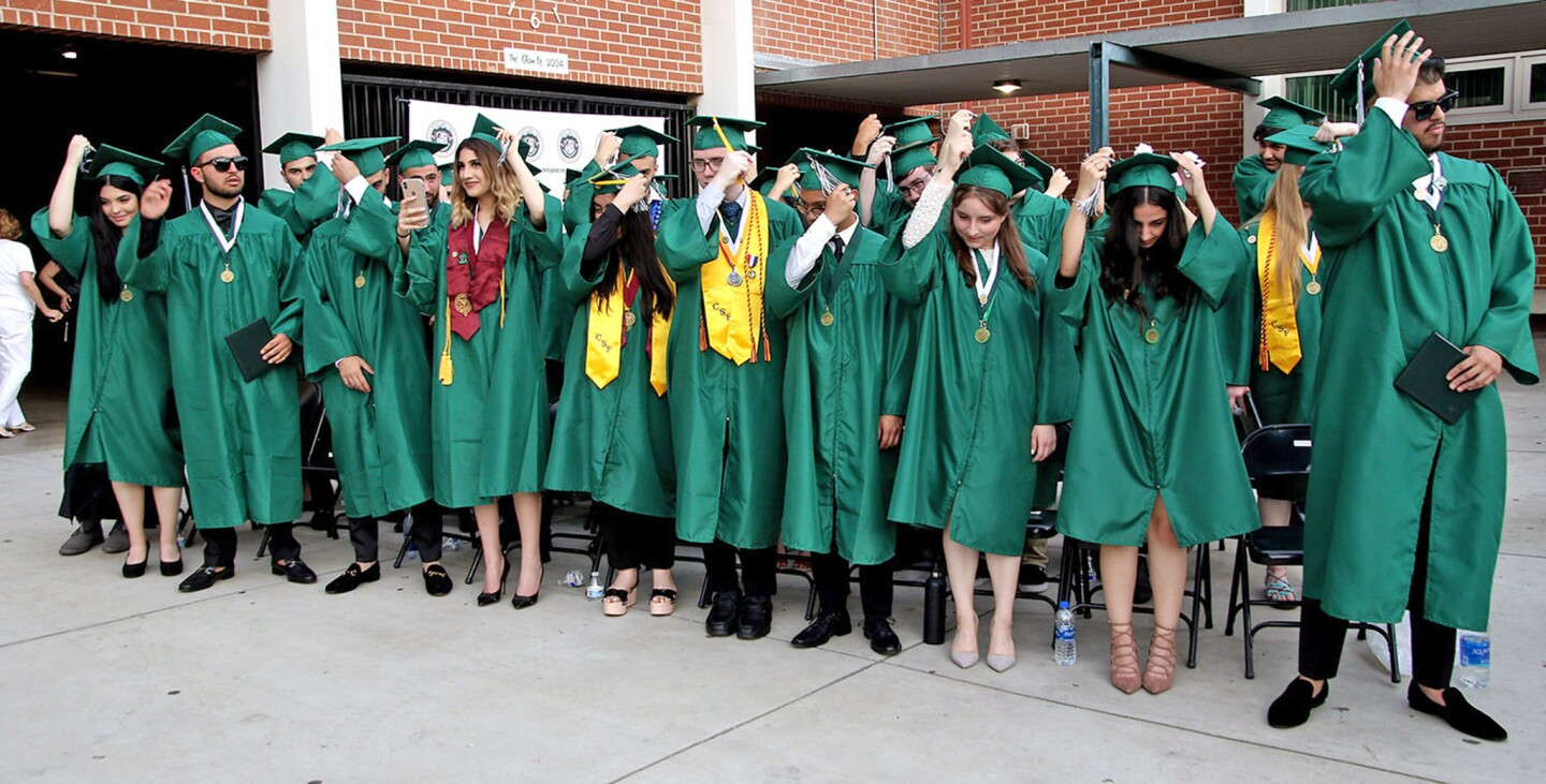 Photo Gallery: Clark Magnet High School graduation 2019