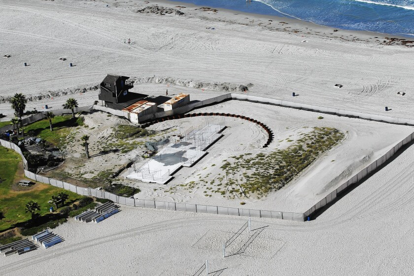 Mission Beach lifeguard station project halted