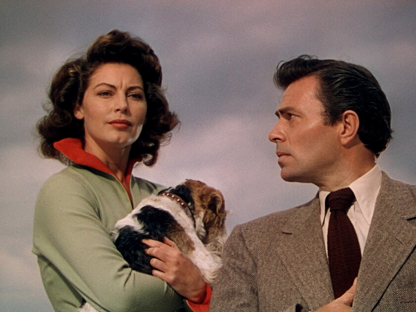 Ava Gardner and James Mason in 'Pandora and the Flying Dutchman'