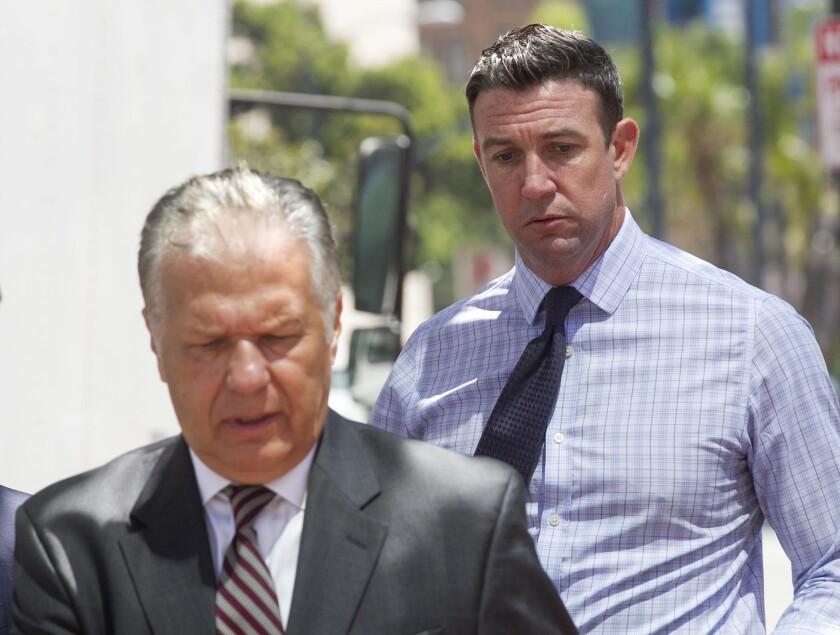 Duncan Hunter Jr. trial date change hearing