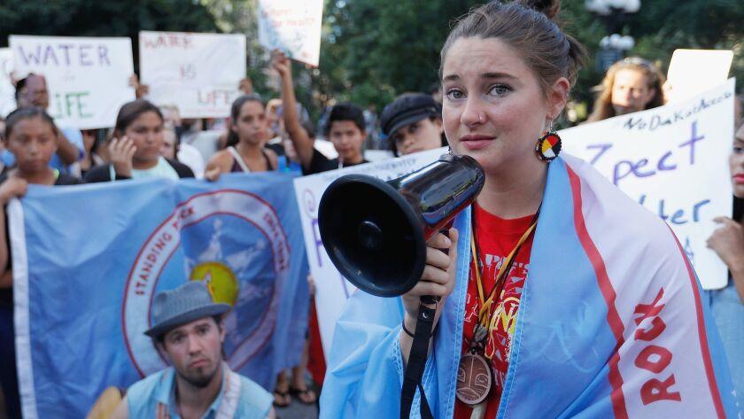 Stop The Dakota Access Pipeline Protest