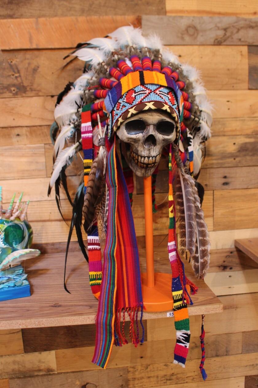 Dia De Los Muertos Skull Art Show