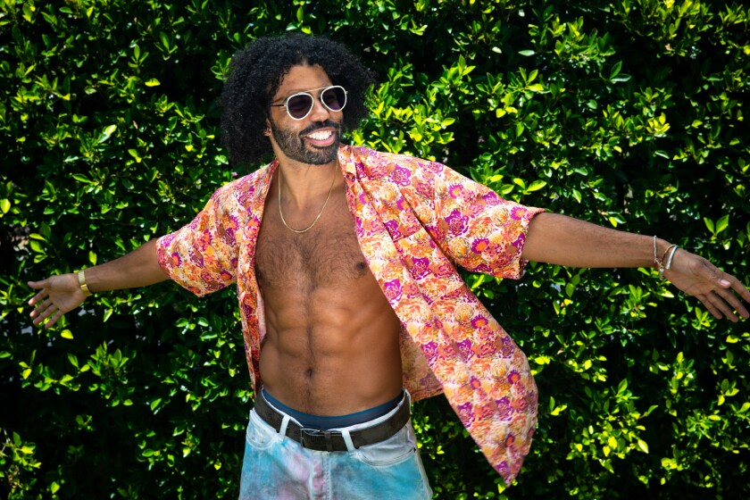 """Actor, rapper and songwriter Daveed Diggs of """"Snowpiercer"""""""