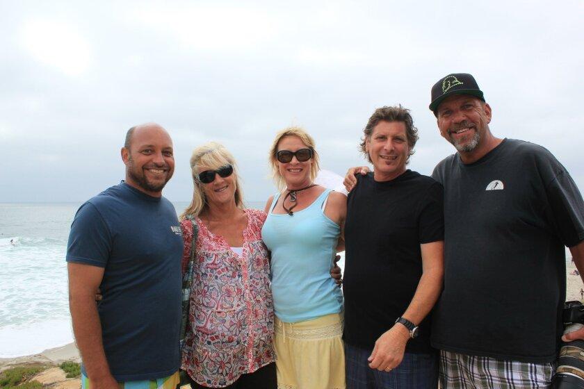 Gene McDonald, Lori Emerson, Janine and Augie Arcidiacono, Mark Bromley