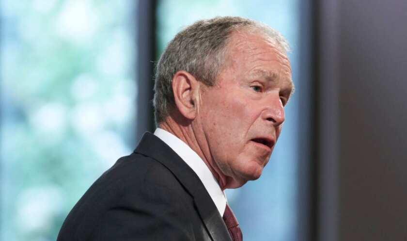 El ex presidente de Estados Unidos George W. Bush (2001-2009).