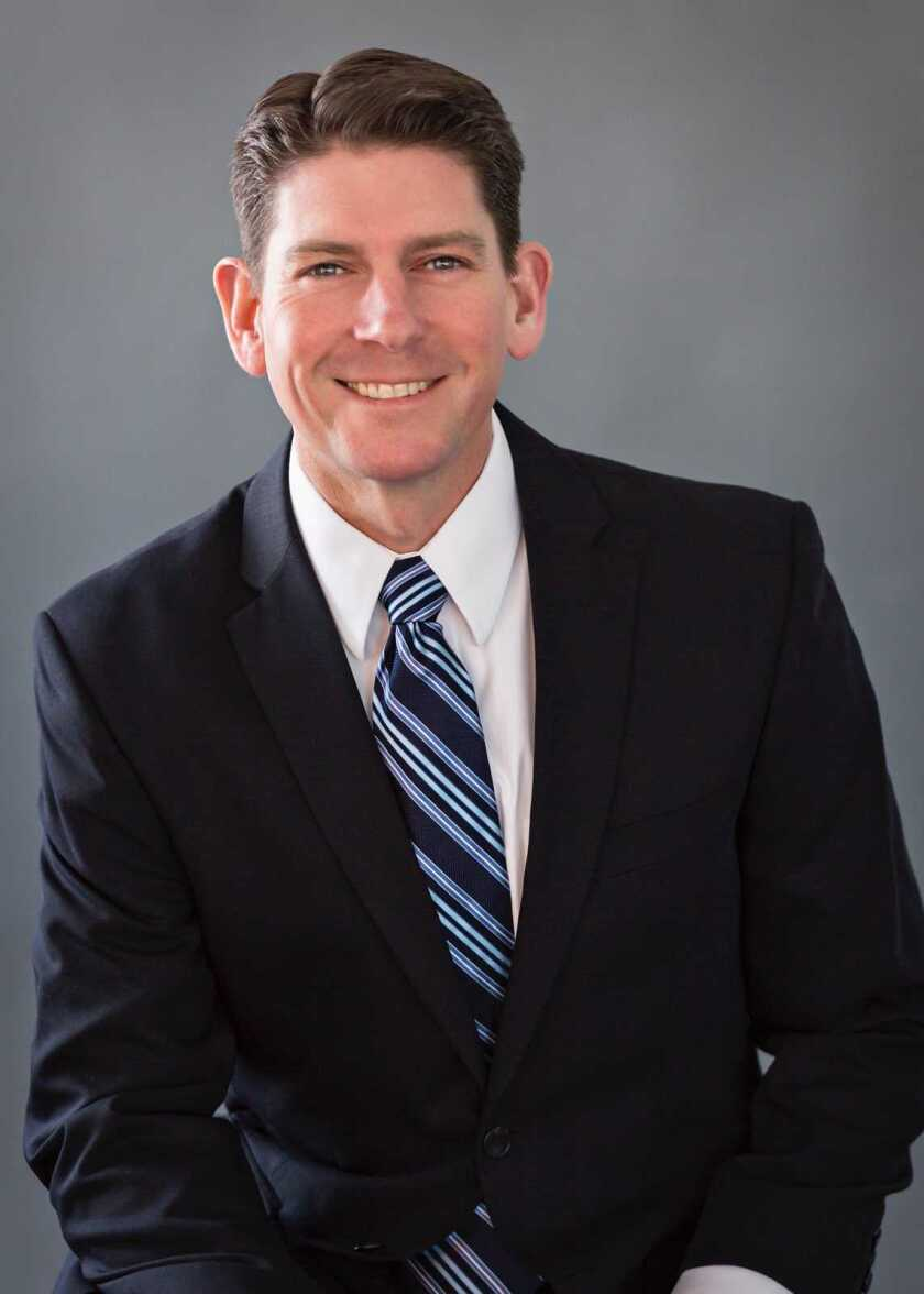 Christian T. Wallis is the Grossmont Healthcare District's new CEO.