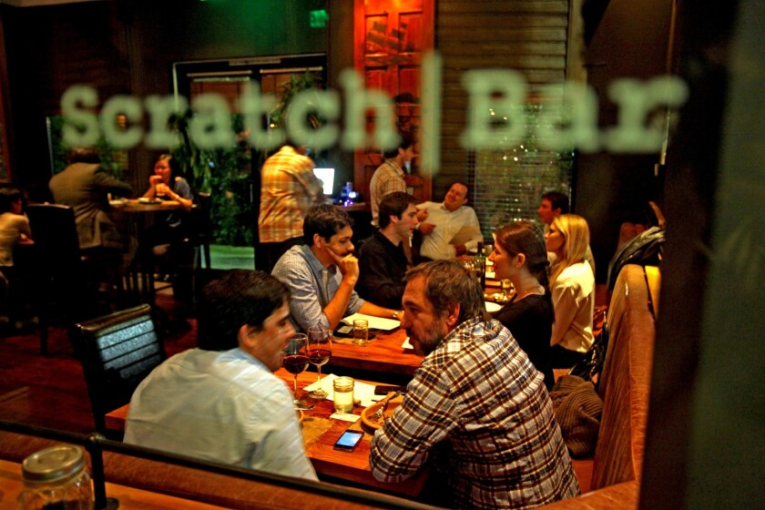 Scratch Bar, the hyper-modern gastropub in Beverly Hills, is known for serving whimsical and meticulously crafted dishes. The restaurant recently closed and is moving to a location in the San Fernando valley.