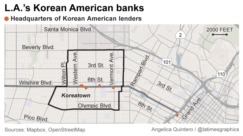 L.A.'s Korean American banks