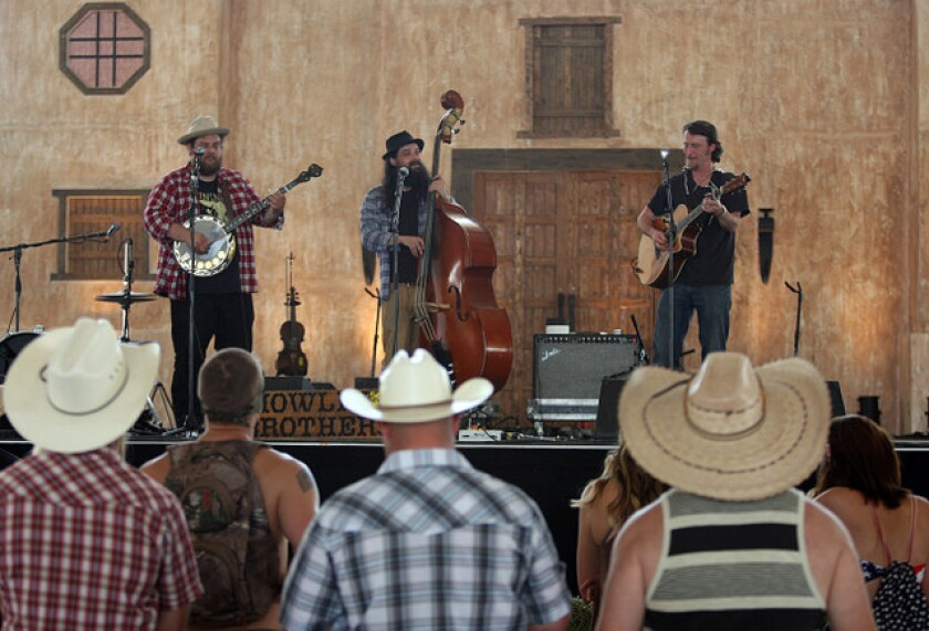 The Howlin' Brothers at Stagecoach Country Music Festival