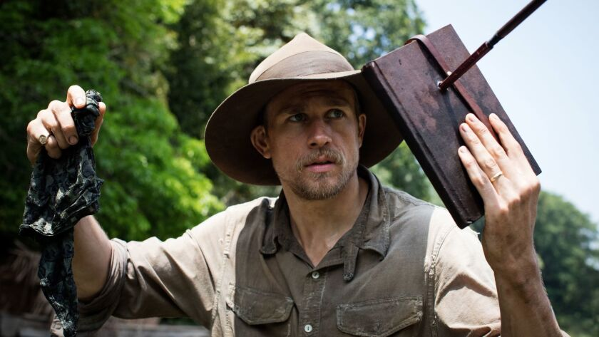 """Charlie Hunnam stars as Percy Fawcett in director James Gray's """"The Lost City of Z."""" Credit: Aidan M"""