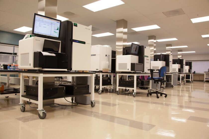 The Human Longevity Inc. DNA Sequencing Facility in San Diego is a big part of the growing push toward personalized medicine.