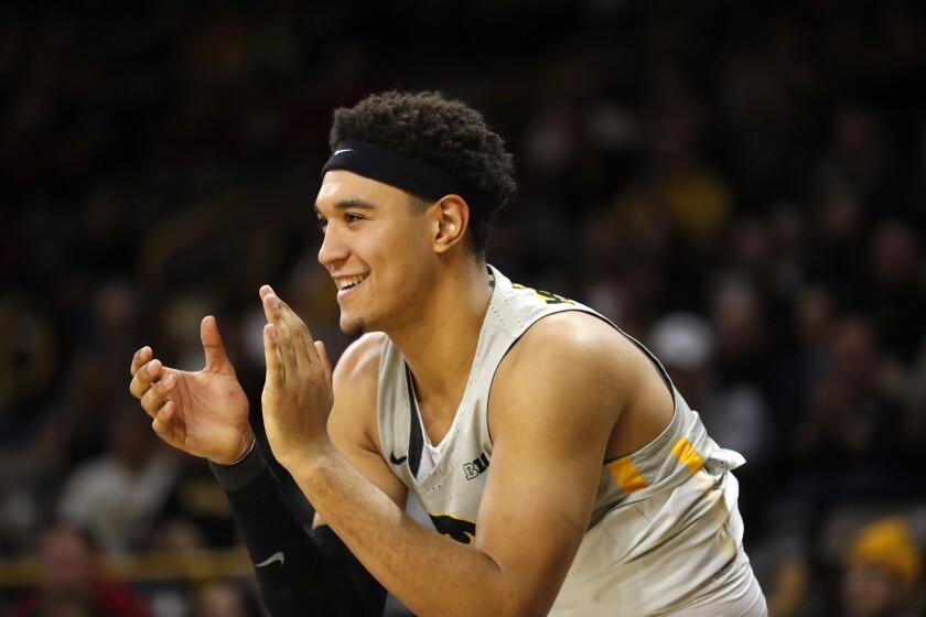 Iowa Player Arrested