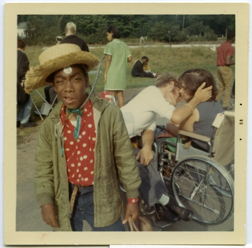 """An image from the documentary """"Crip Camp."""""""