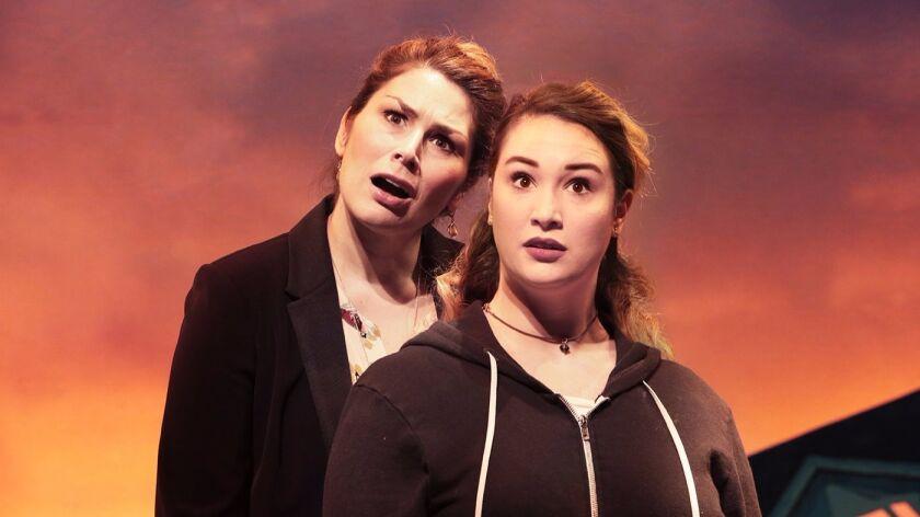 "Heidi Blickenstaff (left) and Emma Hunton will star in La Jolla Playhouse's production of ""Freaky Friday."""