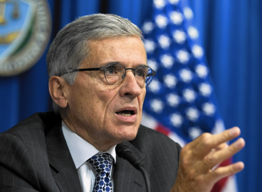 FCC Chairman Tom Wheeler has proposed new rules to cut down on the number of robocalls.