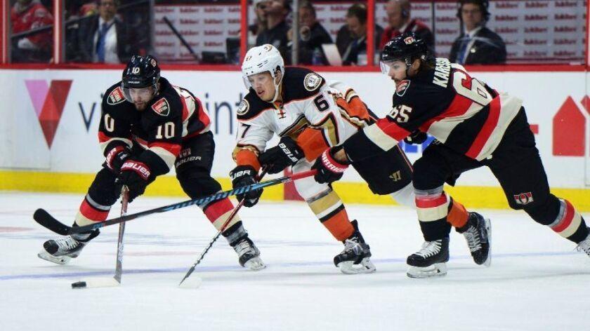 Ducks Senators
