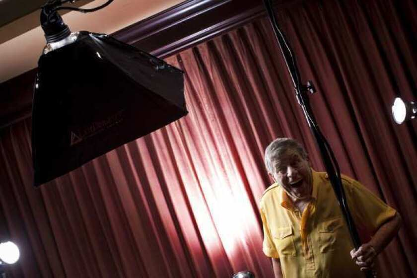 Jerry Lewis in 2010.